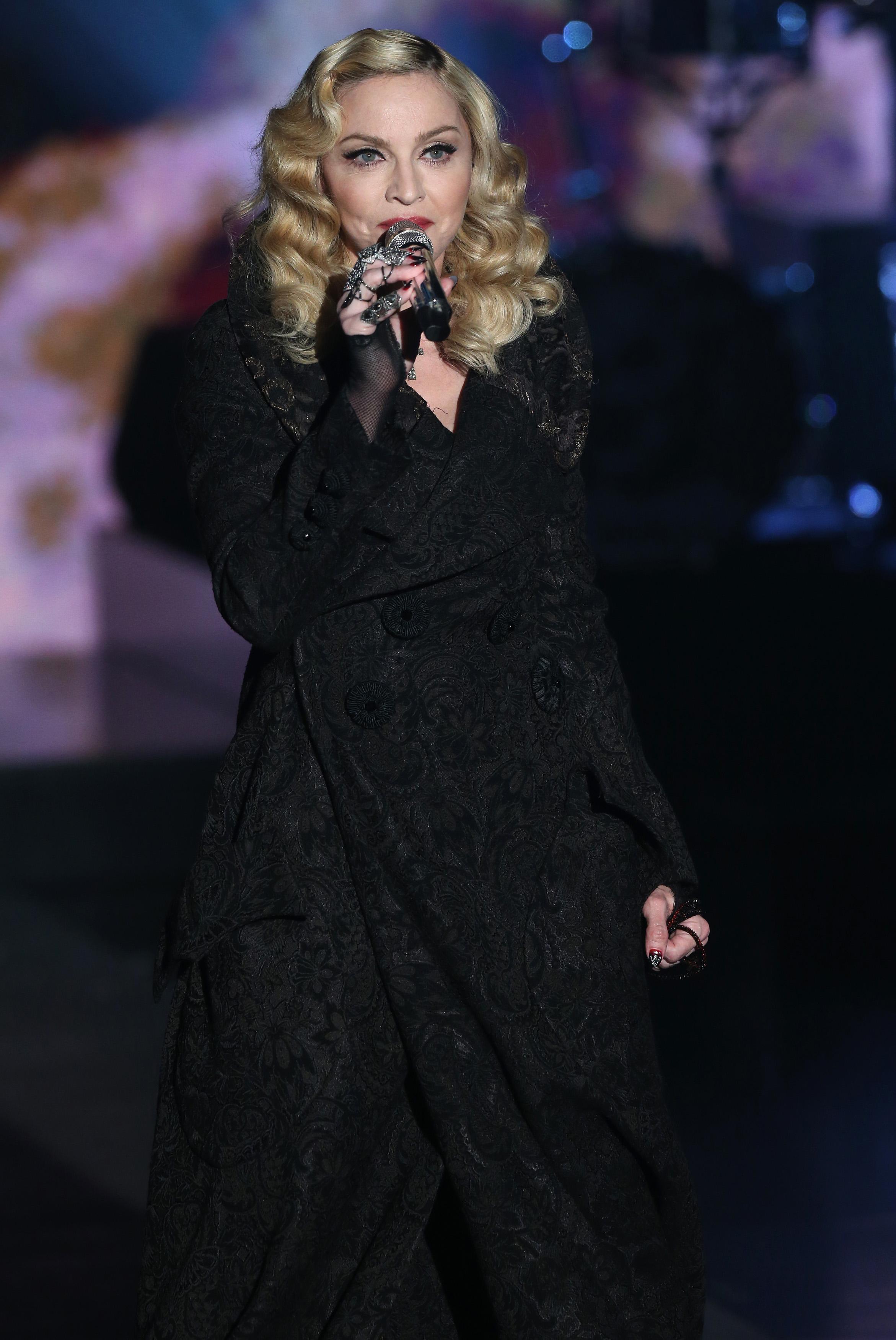 Tv: Madonna ospite di Fabio Fazio a 'Che tempo che fa'